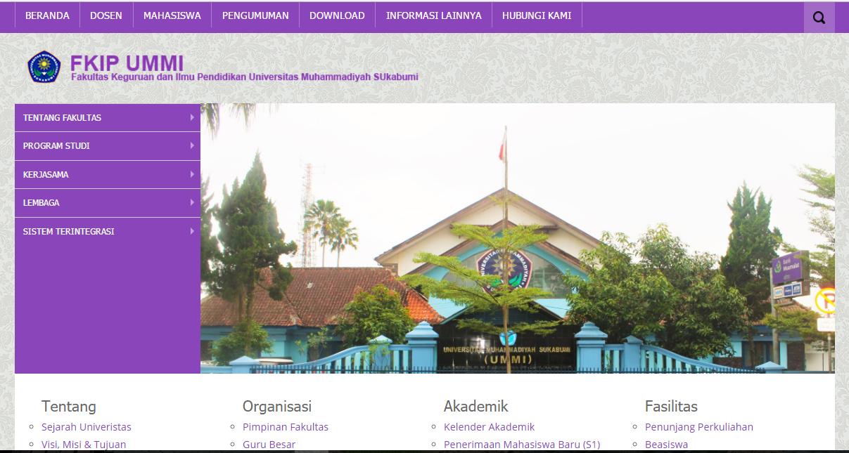 Selamat Datang di Website Baru Fakultas Keguruan dan Ilmu Pendidikan UMMI